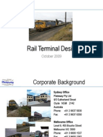 Rail Terminal Design Imrie