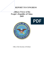 China Military Power Report 2009