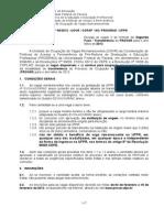 Edital UFPR PROVAR