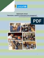 Programa Diplomado Nutricion Salud Emergencias
