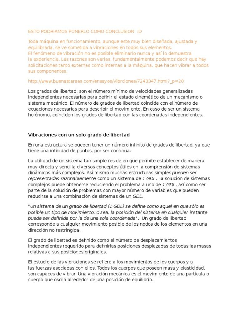 Grados de libertad ccuart Gallery