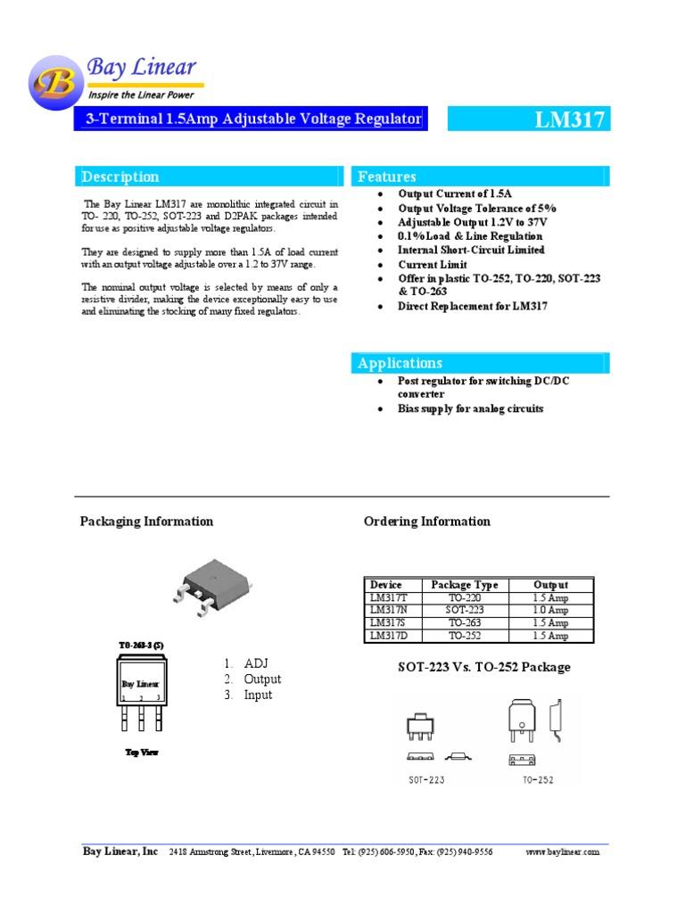 Datasheet Lm 317 Capacitor Electromagnetism Lm317 Based 0 To 3v Adjustable Power Supply