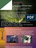 Environmenal pollutants