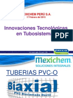 Innovacion Tecnologica Tuberia biorientada