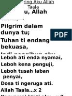 109 Iring Aku Allah Taala