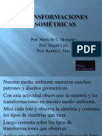 Transformaciones Isometricas