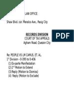 Envelope Label CTA