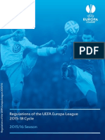 UEFA Europa League - Regolamento 2015 2016