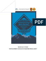Development Geology in Mature Field Asset.docx