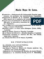 Roso de Luna Mario - Conferencias I