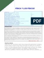 La Fisica y Los Fisicos (1)