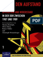 Weg in den Aufstand - Chronik 1987-1989 - Gesamt-Register