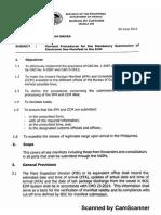 CMO 19-2015 Seafreight Manifest