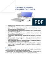 Test Pentru Depistarea Dependentei de Calculator