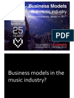 Business Models in the Music Industry