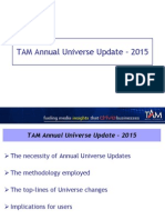 Overview Universe Update 2015