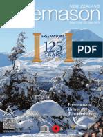 NZ Freemason Magazine Issue 2 June 2015