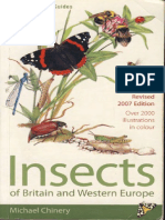 Michael Chinery - Insects of Britain and Europe, Illustrated guide
