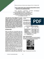 ΝΟ-Study of Timber Crossarms Coated With Castor Oil-based Polyurethane Resins Electrical and Mechanical Tests