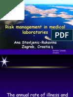 Risk Management in Medical Laboratories
