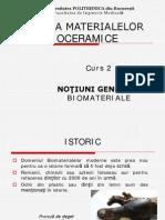 Curs 2 - Notiuni Generale Biomateriale FIM