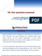 5G Questions Answered (130916)