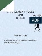 Management Roles
