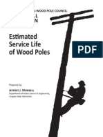 Estimated Service Life of Wood Poles