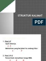 Pertemuan 5 (Struktur Kalimat)