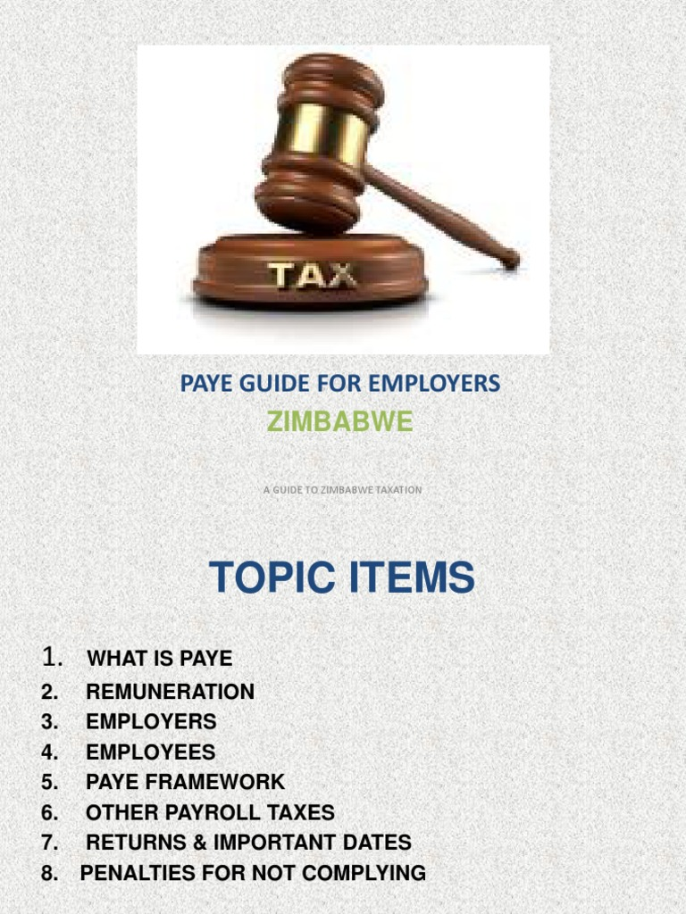 paye guide for employers pdf taxes pension rh scribd com Quickfinder Tax Guide 2018 Tax Guide