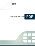 FortiOS v4.0 MR3 Patch Release 14 Release Notes