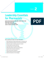 Leadership Essentials Of Pharmacist