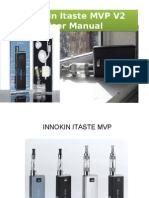 Innokin iTaste MVP V2 Manual