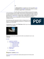 TIPOS DE PROYECTORES