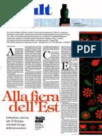 """""""La montagna in festa"""" su Repubblica"""