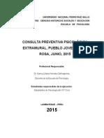 Programa Extramural