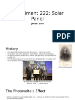 Oral Presentation Solar Power