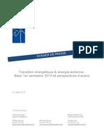 Transition énergétique & énergie éolienne
