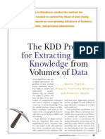 The KDD Process for Extracting Useful Knowledge..._1996_Fayyad, Patesky-Shapiro and Smith_2015!06!22