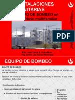 EqUIPO de BOMBEO en Un Edificio Multifamiliar (1)