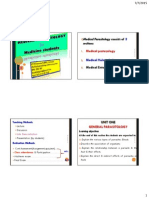 Lecture Notes on Medical Parasitology (Introduction)  By