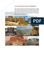 Take a Look to the Marvelous Forts of Rajasthan