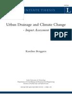 Diseño de drenaje urbano