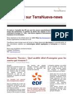Lettre d'information du cabinet TerraNueva - février 2010