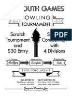 2015 US Youth Games Bowling Tournament
