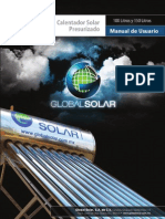 Manual de Usuario Calentador Solar