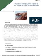 Curso Direito Previdenciario - Inss - Frederico Amado