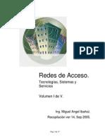 Redes de Acceso. Tecnologías, Sistemas y Servicios