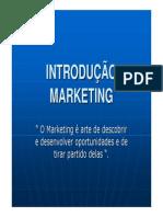 Introdução Marketing