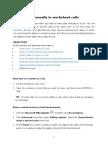 Application Development - Unit One & Two